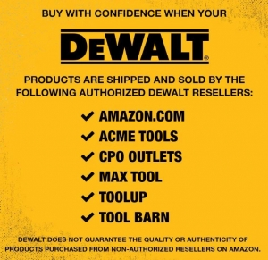 DEWALT DCCS620P1 20V MAX Cordless Chainsaw