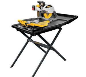 DEWALT Wet Tile Saw with Stand – Sort Out Your Heavy-Duty Chores