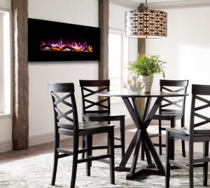Ventless Heater Electric Wall Mounted Fireplace