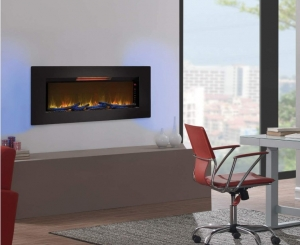 Felicity Wall Mounted Infrared Quartz Fireplace