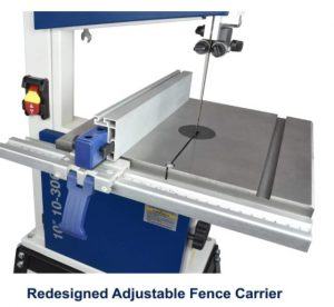 """Rikon 10-3061 10"""" Deluxe Bandsaw, Includes Fence and Two Blade Speeds"""