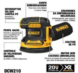 Dewalt 20V DCW210B Sander